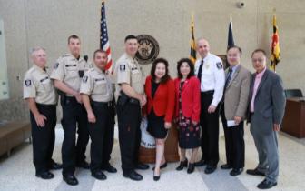 资讯:华裔任美国马州执法部最高亚裔长官
