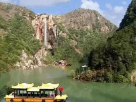 山水浙江: 磐安舞龙峡景区, 台地峡谷奇观
