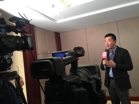 新东方教育科技集团助理副总裁 新东方前途出国常务副总裁 孙涛