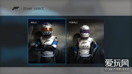 《极限竞速7》将赛车手也作为装扮元素