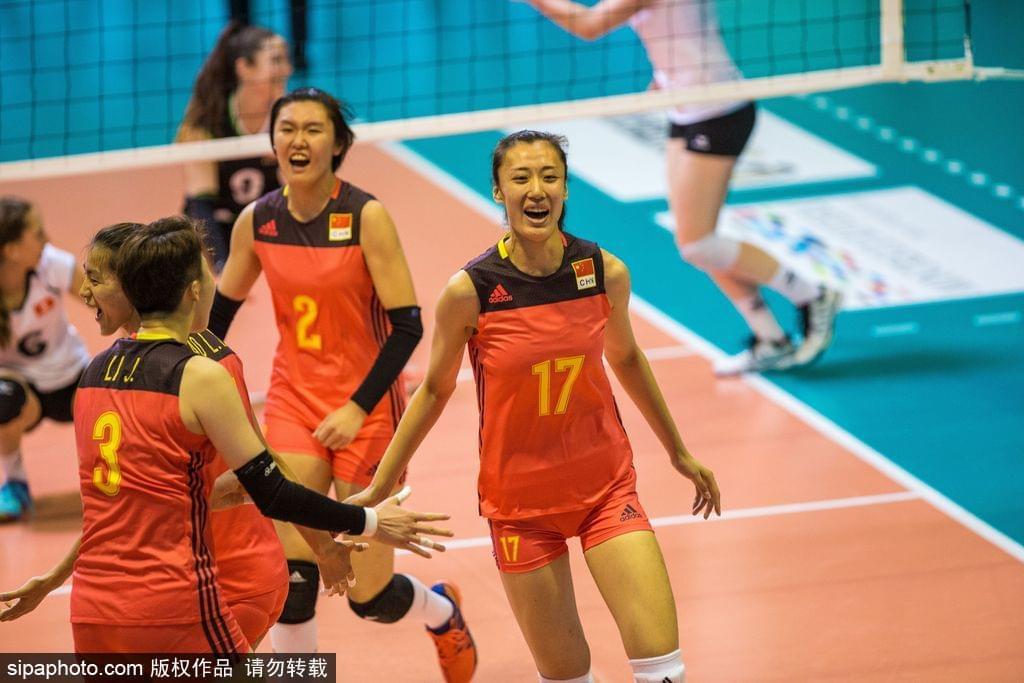 瑞士赛中国女排3-0瑞士开门红 龚翔宇两局得12分