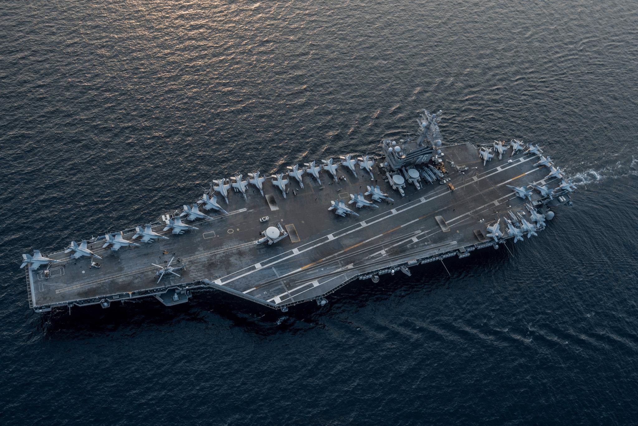 首次!美国航母预计在2018年到访越南港口
