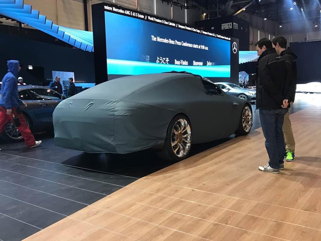 豪华与动感兼具 AMG GT4日内瓦车展就位