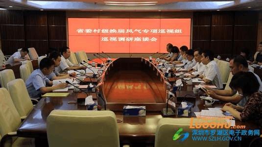 省委村级换届风气专项巡视组到惠州巡视啦!