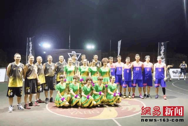 篮球与广场舞可以很和谐!不信,去杭州双浦三阳村看看