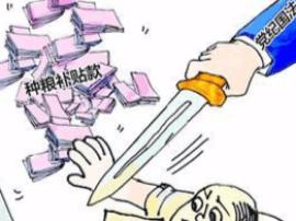 阳东村支书骗取种粮补贴和危改资金、挪用低保被查