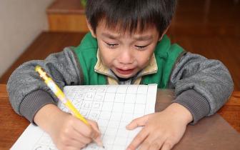寒假学生拼命赶作业:有孩子每天写7个小时