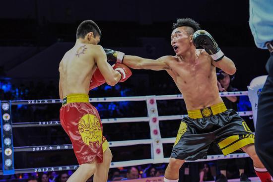 2017中国拳王赛天津揭幕战 全运冠军领衔6人突围