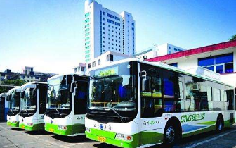 """340辆新能源公交车""""上岗""""专治各种不良驾驶"""