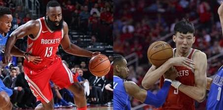火箭虐小牛 周琦迎NBA首秀献3板1帽