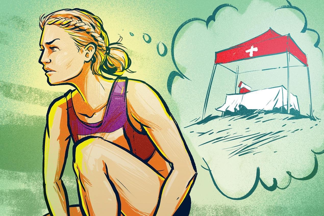 跑马之后3招加速恢复 游泳+多吃蛋白质
