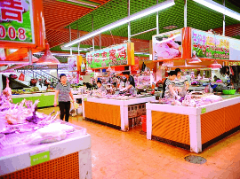 改变脏乱差!惠州多家集贸市场变身为整洁超市