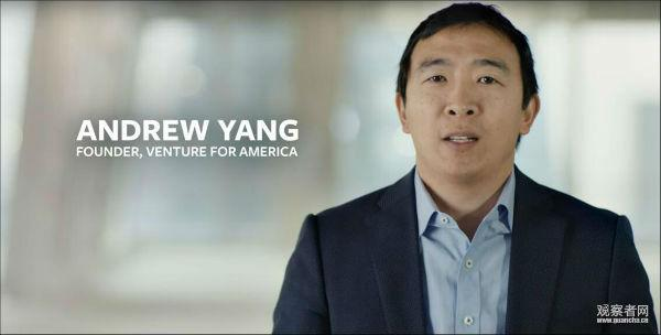 纽约华裔宣布参选下任美国总统 成历史第二人