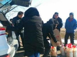 陕州区检察院数九寒天为困难群众送温暖