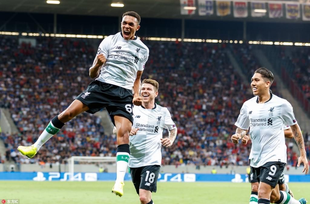 米尼奥莱拒点小将任意球 利物浦2-1获胜
