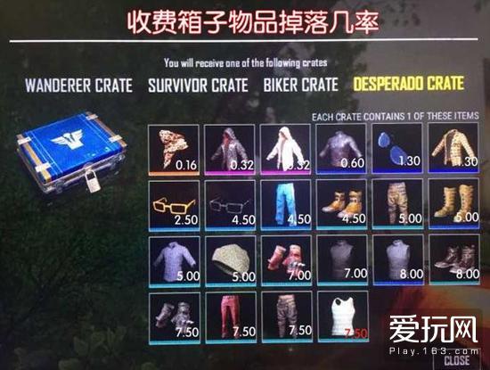 绝地求生玩家连开围巾和卫衣 价值超1.5万人民币