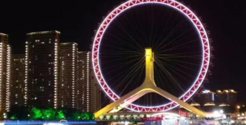 咱天津夜景怎么样?四面八方的小伙伴:老漂亮了!