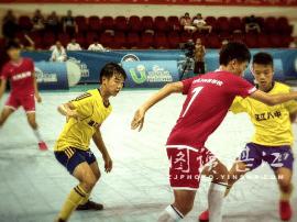 广东省少年足球5V5争霸赛,市八中获季军