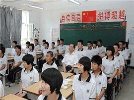 补课坐前排 没补课靠后坐 金溪二中老师滥用权力