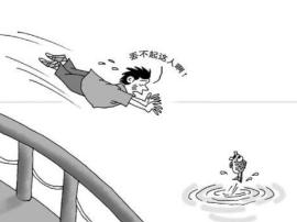 佛山男子破坏公厕 为逃避责任在河里游了几个小时