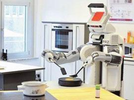 """猎豹移动发布五机器人 机械臂调制咖啡或成""""豹""""款"""