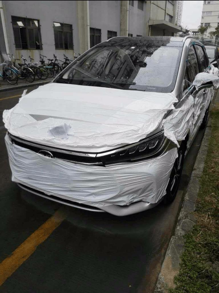 将于上海车展亮相 比亚迪新MPV车型谍照