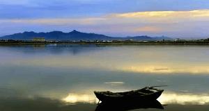 七里海:渤海沿岸的观
