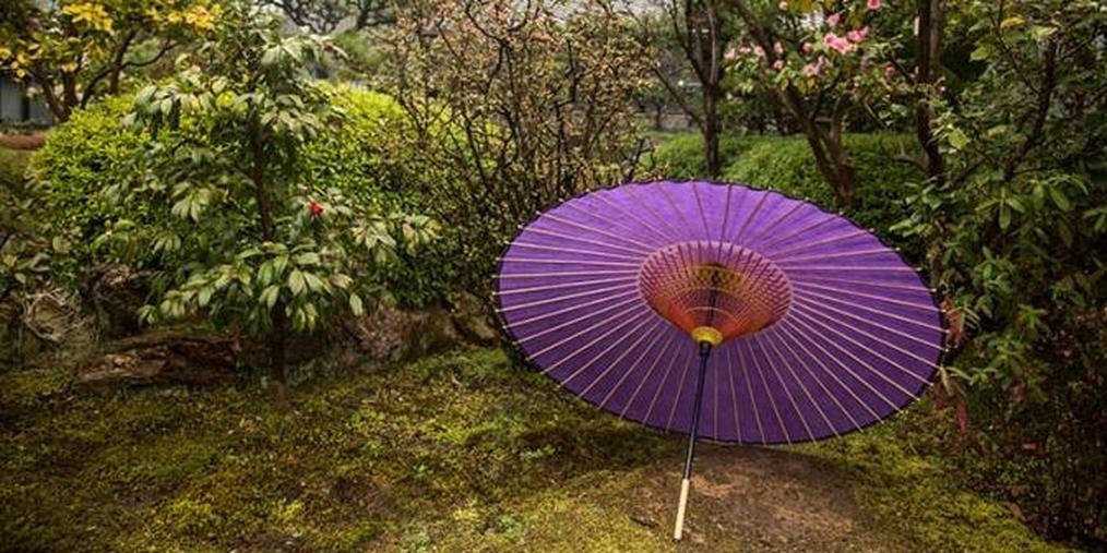 """和纸的世界:用美浓纸制作的""""和伞"""""""