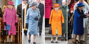 英国女王92岁高龄依旧露腿穿高跟鞋 不服不行!