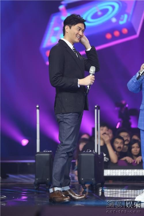 《我想和你唱》杨迪金志文要和张智霖比台步