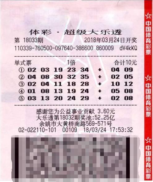 浙江男子买彩半年揽大乐透687万 透露中奖是有技巧的