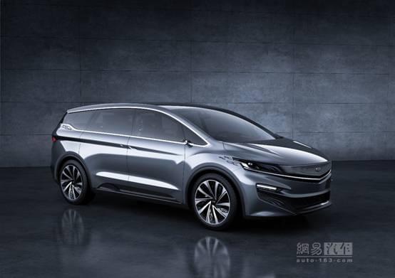 即將亮相/造型動感 吉利MPV概念車官圖,香港交友討論區
