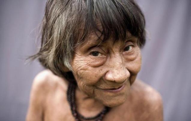 神秘狩猎部落 游荡在亚马逊雨林深处