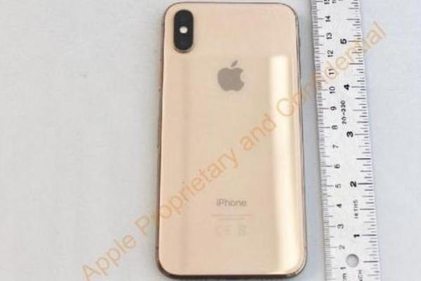 FCC意外曝光金色版iPhone X真机图