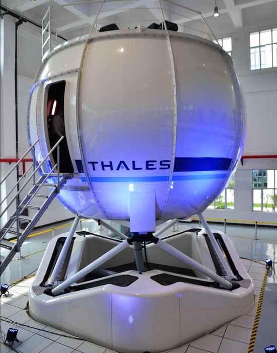 泰雷兹Reality H EC135模拟机