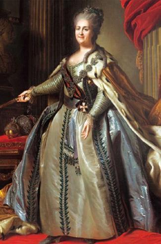 叶卡捷琳娜女皇肖像