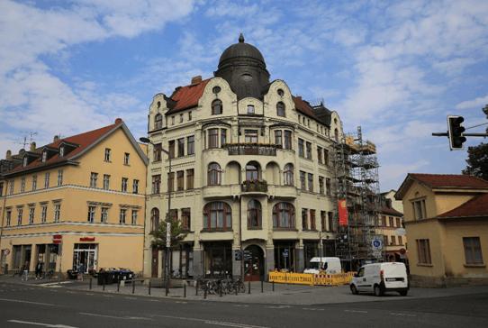 魏玛城市街道