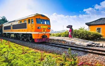 中国最早自己修建的铁路 建水古城的米轨小火车