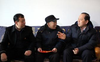三门峡市委副书记 市长安伟到陕州区开展春节慰问