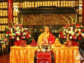 少林寺举行浴佛节大法会 纪念佛祖诞辰2561周年