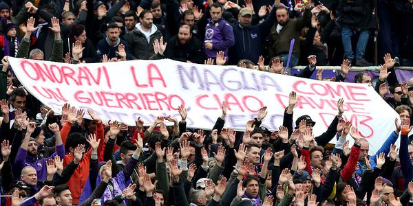 佛罗伦萨赛前悼念阿斯托里:永别了 我的队长