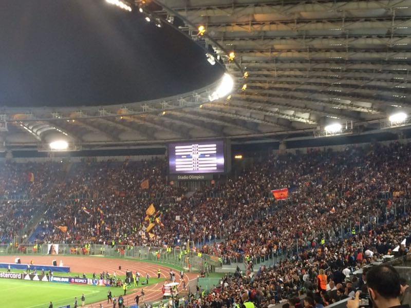 直击-罗马对阵马竞:格子遭南看台狂嘘不止 尤文丢球全场鼓掌!