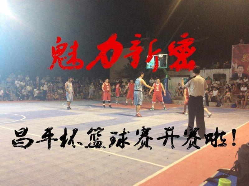 新密市2017年范村村昌平杯男子篮球赛