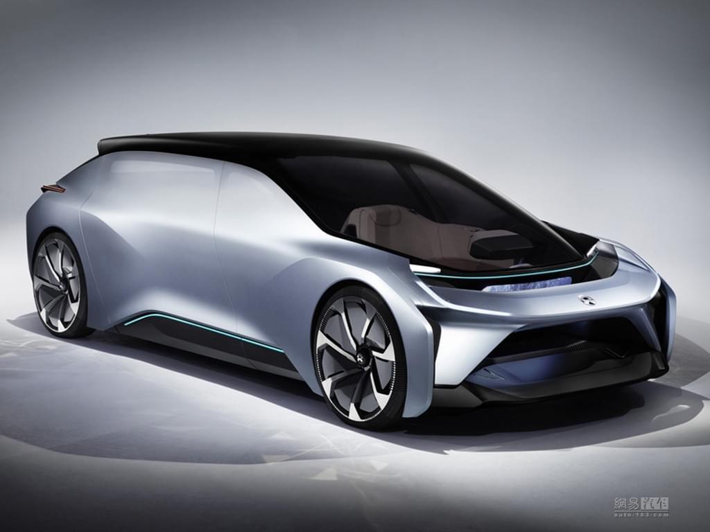 """设计很""""未来"""" 蔚来汽车发布全新概念车"""