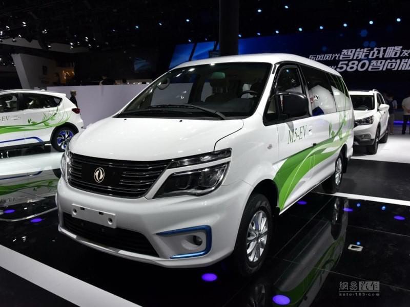 补贴后11.59万 菱智M5 EV电动车正式上市