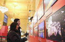 """上海元素""""亮相纽约大中央车站"""