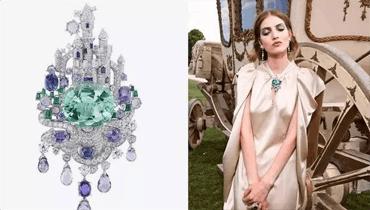梵克雅宝驴皮公主高级珠宝系列 打造珠宝童话世界