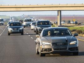 奥迪A7自动驾驶汽车面向德国公众试驾