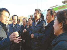 王文涛察看拆违拆临:没有可以例外的特殊单位、特殊人
