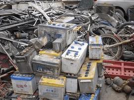 拆解废旧电瓶是违法的 唐山地区三人被处理
